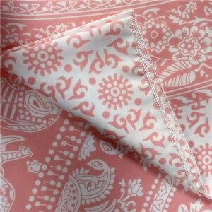 Богемный МАНДАЛА ГОБЕЛЕН розовый гобелен хиппи Индийский Слон Бохо Декор Фон большое одеяло настенный гобелен из ткани
