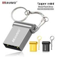 Ad Alta Velocità Mini Usb Flash Drive da 128 Gb 64 Gb Pen Drive 16 Gb 8 Gb Flash Drive Portatile 32 gb 4 Gb Impermeabile Pendrive Usb 2.0 Bastone