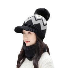 Новый бренд зимние шапки Женская Толстая вязаная теплая шапка