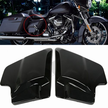 ABS Side Cover Panel For Harley Davidson Touring Street Glide 09-18 Vivid Black Left Right Side Touring FLT FLH 2009-2018