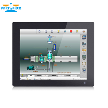 12.1 Inch Industrial Touch Panel PC Intel J1800 J1900 3855U i5 i7 CPU with 5 Wires Resistive Touch Screen,Windows 7/10 Linux