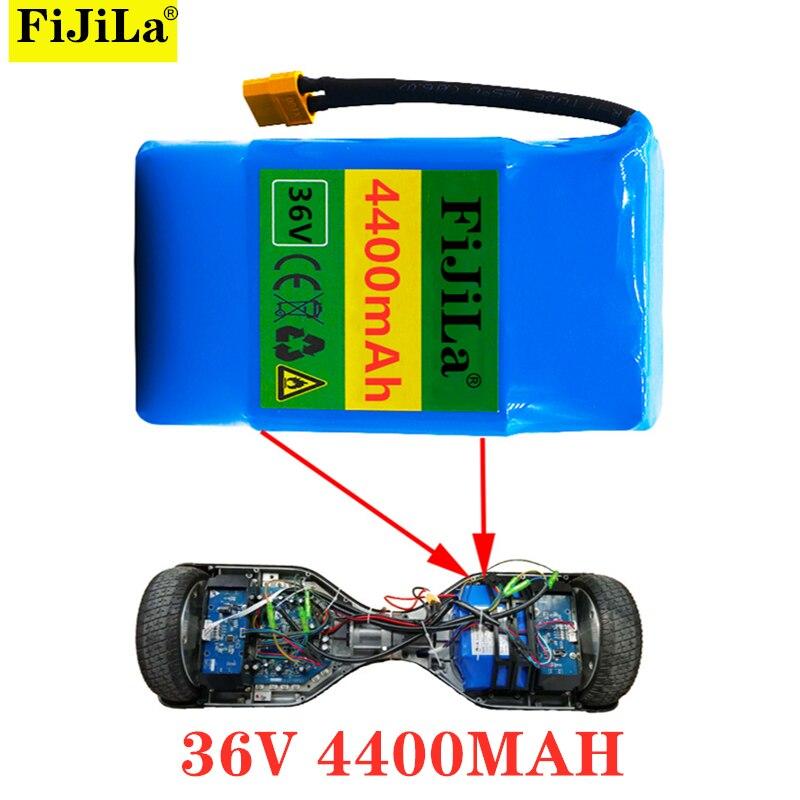 Сбалансированный скутер 36 В 4400 А · ч, 10s2p 36 В 18650 мА · ч, автомобильный аккумулятор, протеиновый блок питания