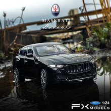 welly 1:24 Levante Maserati  car alloy model simulation decoration collection gift toy Die casting boy
