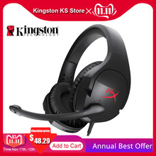 Kingston Earphone HyperX Cloud Stinger Auriculare Headphone Steelserie Gaming Headset with Microphone Mic For Computer