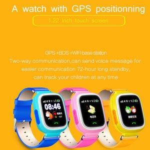 Image 5 - Akıllı çocuklar izle Q90 WIFI dokunmatik ekran GPS izci çocuklar akıllı saat çocuklar için güvenli SOS çağrı konumu cihazlar Anti kayıp hatırlatma