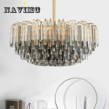 Nordic Luxury Fashion Personality Design Crystal Lamp for Living Room Hotel