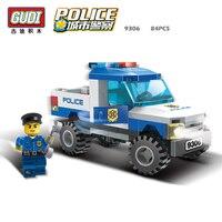 9306 84 stücke SWAT/Polizei Konstruktor Modell Kit Kompatibel Blöcke Ziegel Spielzeug für Jungen Mädchen Kinder Modellierung Kompatibel Legoinglys