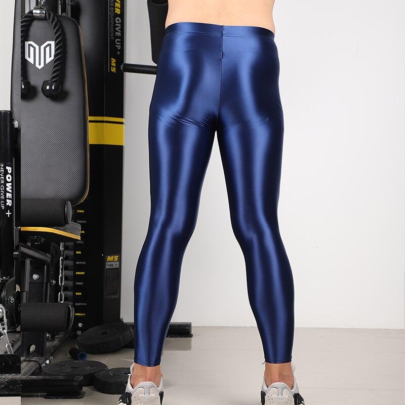 Pantaloni leggings sport fitness di raso