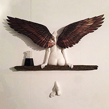Wall-Decoration Angel-Wings for Living-Room Bedroom Home-Decor Garden Statue Artwork