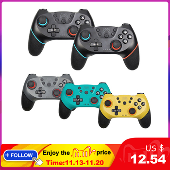 Bluetooth Wireless Switch Pro Controller Gamepad For Nintendo Switch gamepad For NS Console Joystick Wireless Controlle new bluetooth wireless gamepad for nintendo switch pro controller for nintend switch console game joystick for android pc handle