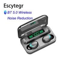 003 auriculares inalámbricos auriculares Bluetooth auricular del deporte auriculares TWS estéreo Cancelación de ruido reducción auricular