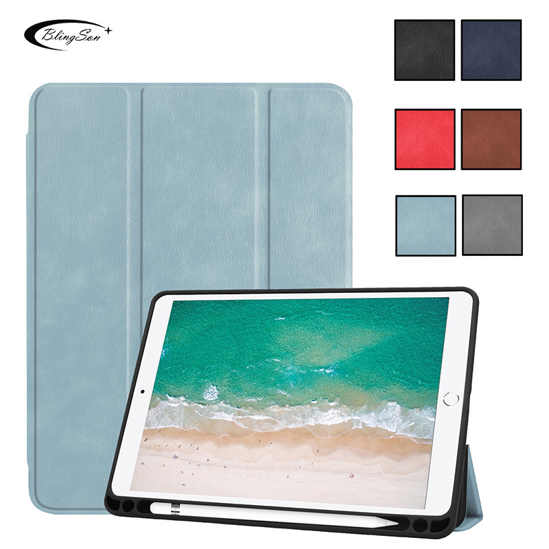 For iPad Air 2 Air 1 Case Funda High Quality Pu Leather Smart Cover Case for iPad 9.7 2017 2018 5th 6th generation Case Stand