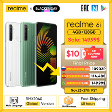 Realme 6i New Global-Version Dewdrop-Display 128GB 4gbb GSM/WCDMA Nfc Quick Charge 3.0
