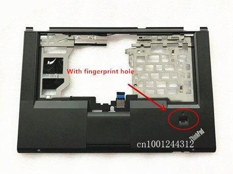 Nouveau Palmrest boîtier supérieur clavier lunette avec touchpad bouton haut parleur câble pour Lenovo Thinkpad T430S ordinateur portable 04W3496 04X4612