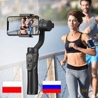 Estabilizador de cardán de 3 ejes para teléfono móvil, con aplicación, Bluetooth, Cámara de Acción, smartphone, youtuber, vlogger, media geek