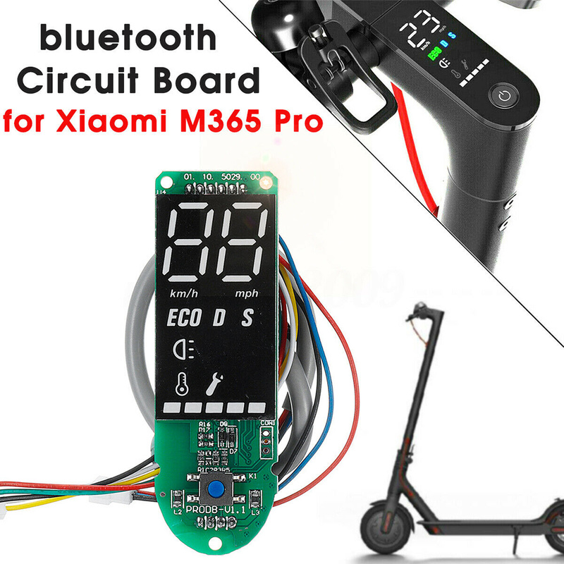 US Dashboard w// Screen Cover Circuit Bluetooth Board For Xiaomi M365 Pro Scoote