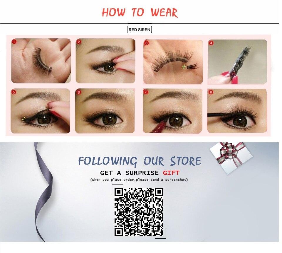 olho cílios 3d vison cílios maquiagem cílios