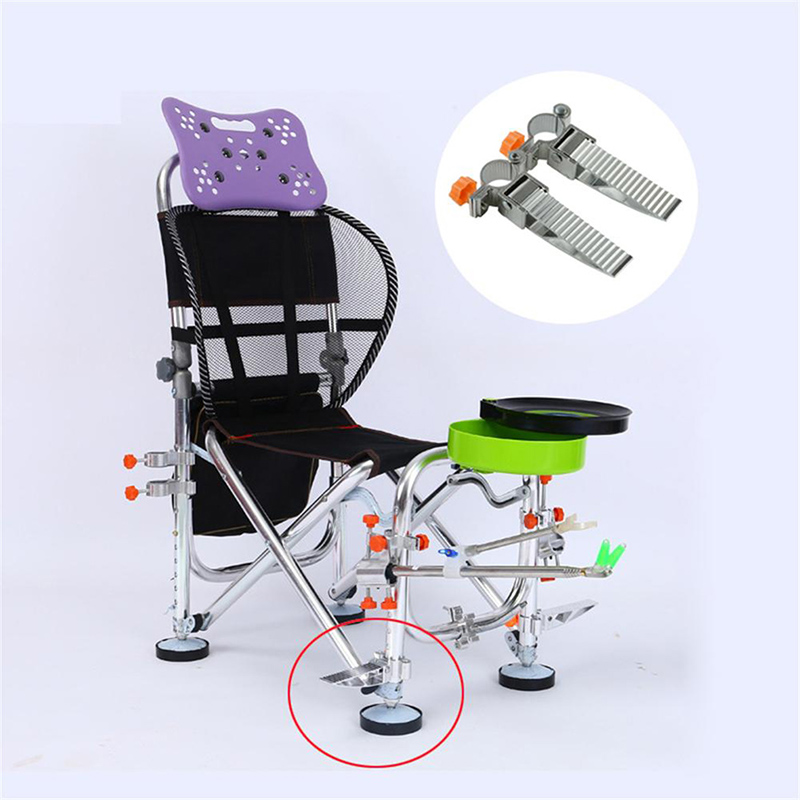 Universal Multi-function Fishing Chair Accessories Aluminum Alloy New Pedal Folding Chair Fishing Stool Products
