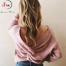 2021 kobiet z powrotem w kratkę frezowanie sweter z dzianiny jesienno-zimowa elegancka OL ciepłe pulowery moda jednolity sweter dzianina Pull