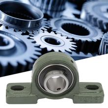 1PCS UCP205 Pillow Block Bearing Ball Mounted Bearing 2 Bolt Solid Base with Housing linear bearings