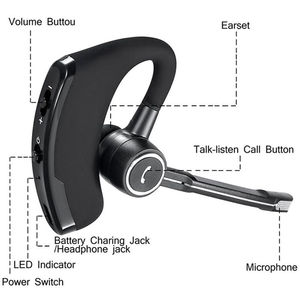 V8S Bluetooth Earphones Wirele