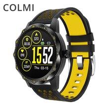 COLMI SKY 1 برو جهاز تعقب للياقة البدنية IP67 مقاوم للماء ساعة ذكية مراقب معدل ضربات القلب بلوتوث الرياضة الرجال ساعة ذكية لهاتف آيفون أندرويد