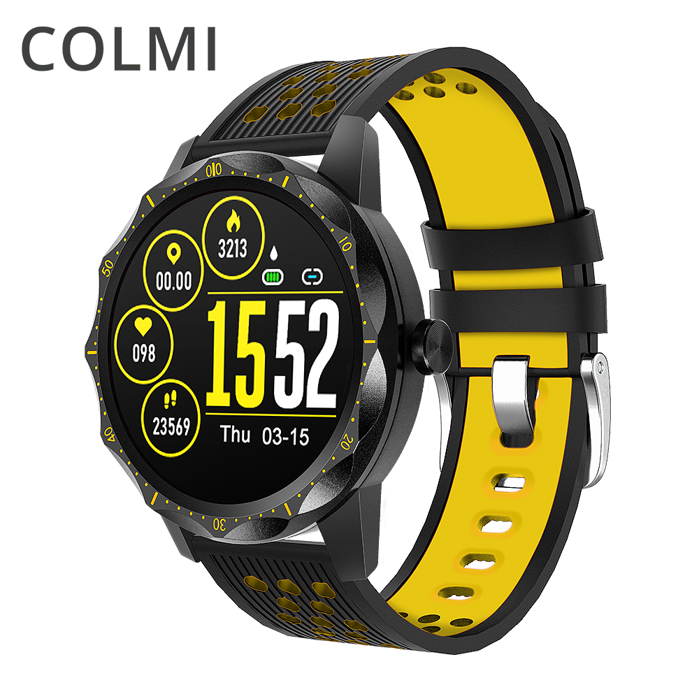 COLMI SKY <font><b>1</b></font> Pro Fitness tracker IP67 waterproof Smart watch Heart Rate Monitor Bluetooth Sport Men <font><b>Smartwatch</b></font> For iPhone Android image
