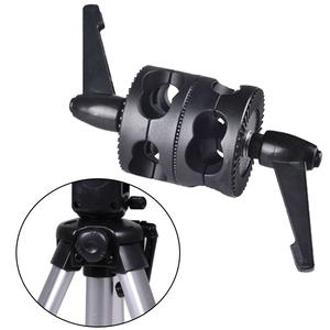 Image 2 - Multifunctional For Boom Photo Studio LED Light Mount Angle Universal Grip Head Clamp Photography Dual Swivel Arm Support Holder