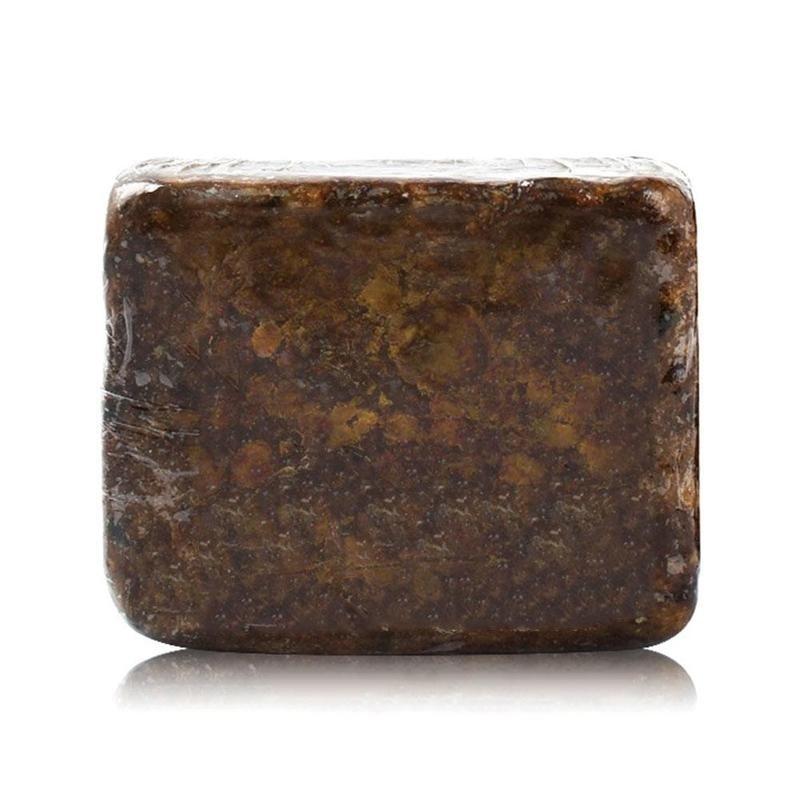 Savon noir magique pour le corps, bain de beauté africain, traitement de la peau contre l'acné, blanchiment naturel, réduit les taches foncées, nettoyage doux de la peau