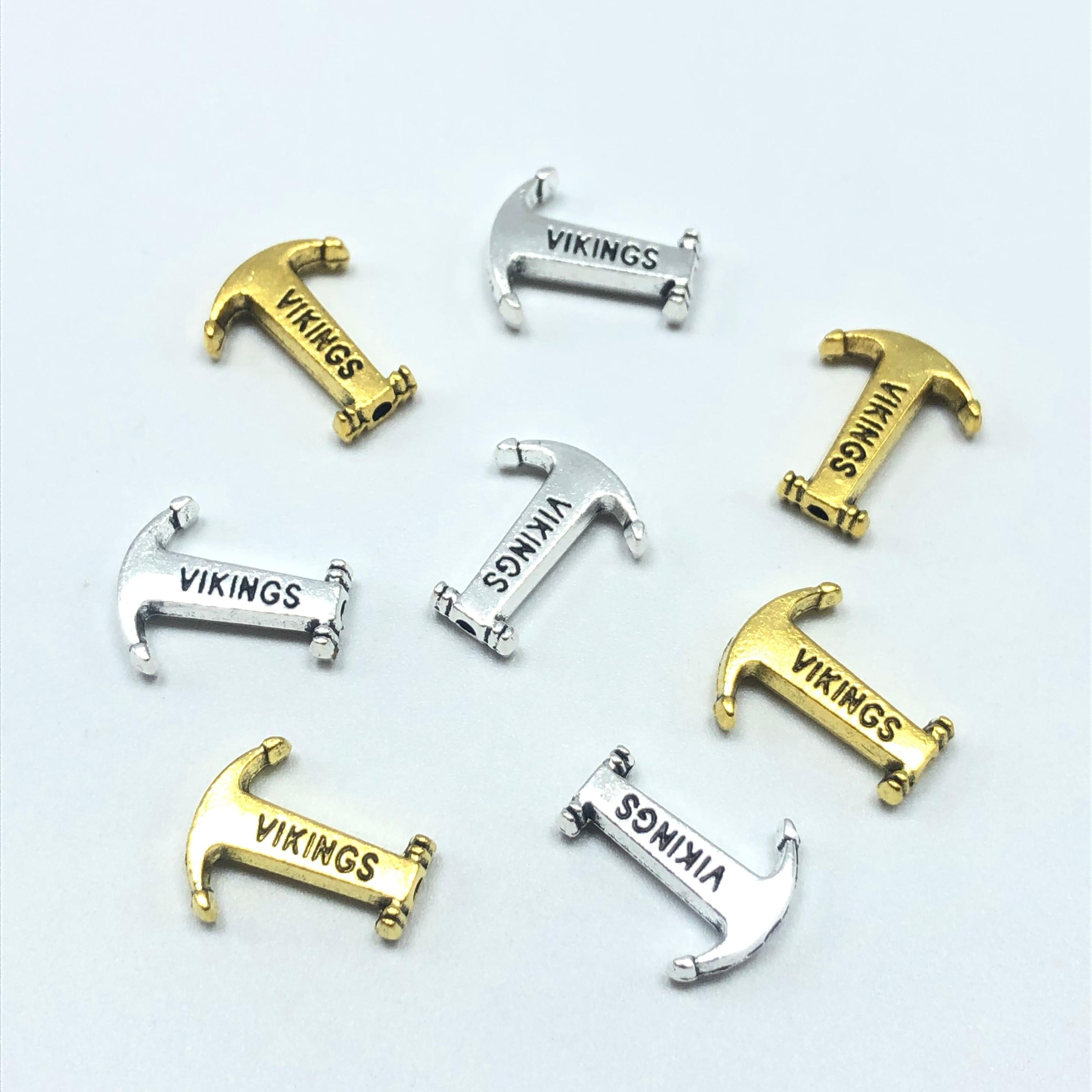 Making Xmas Diy Stainless Steel Silver Charm Pendants Beads DIY Jewelry Findings