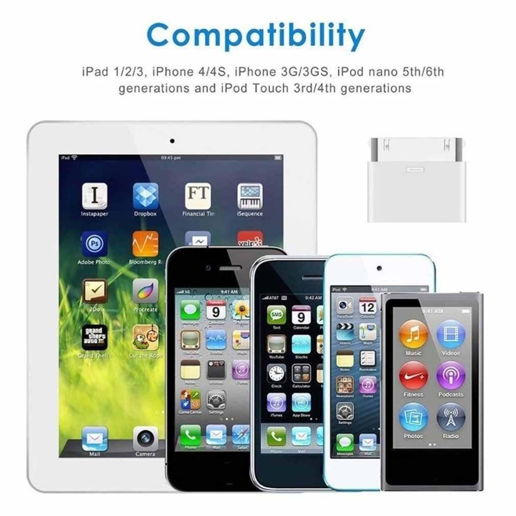 8 ピンメス 30 ピンオスアダプタ iphone 4 4S ipad の 3 ipod touch の 4