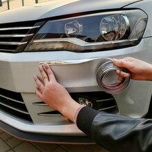 Для автомобиля araba PVC krom kaplama koruyucu Film kapı kenar koruyucu araba bagaj eşiği tam vücut Sticker vinil oto aksesuar