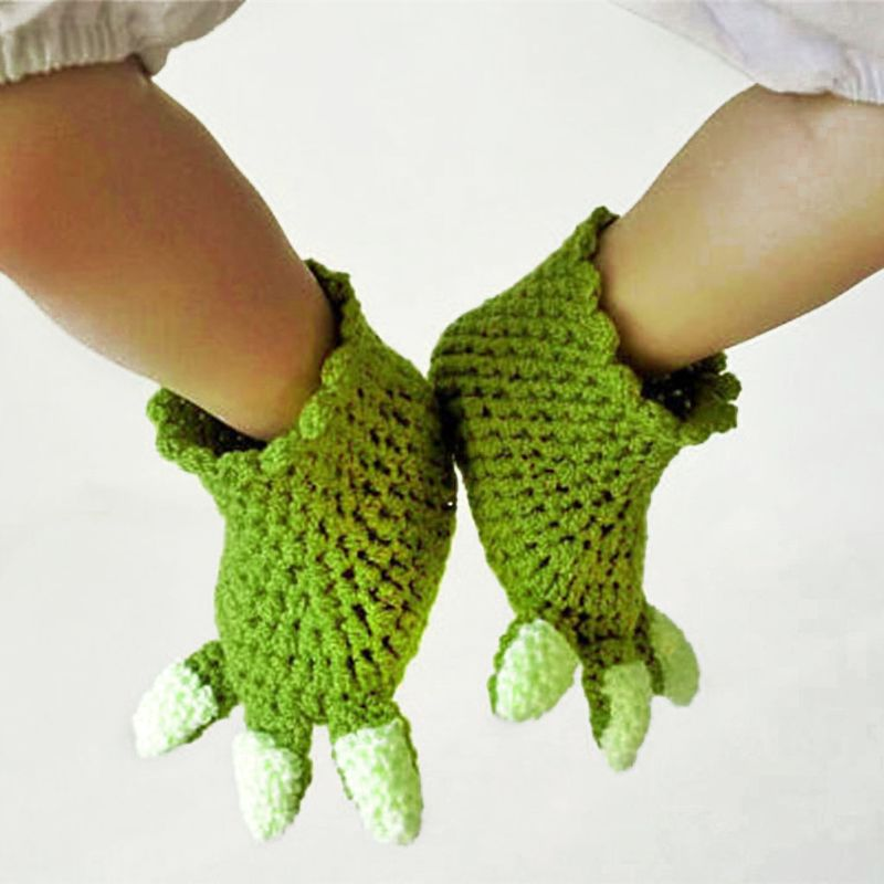 Newborn Crochet Knit Costume Prop Outfits Photo Photography Baby Hat Photo Props 03KD