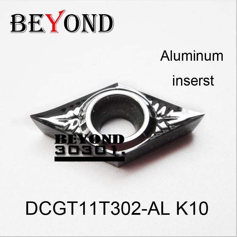 OLTRE DCGT11T304-AL K10 DCGT11T302-AL K10 DCGT 11T304 11T302 per - Macchine utensili e accessori - Fotografia 2