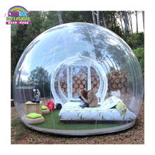 Outdoor camping Inflatable clear bubble dome tent for rent outdoor camping transparent inflatable bubble tent pvc inflatable dome tent clear tent inflatable