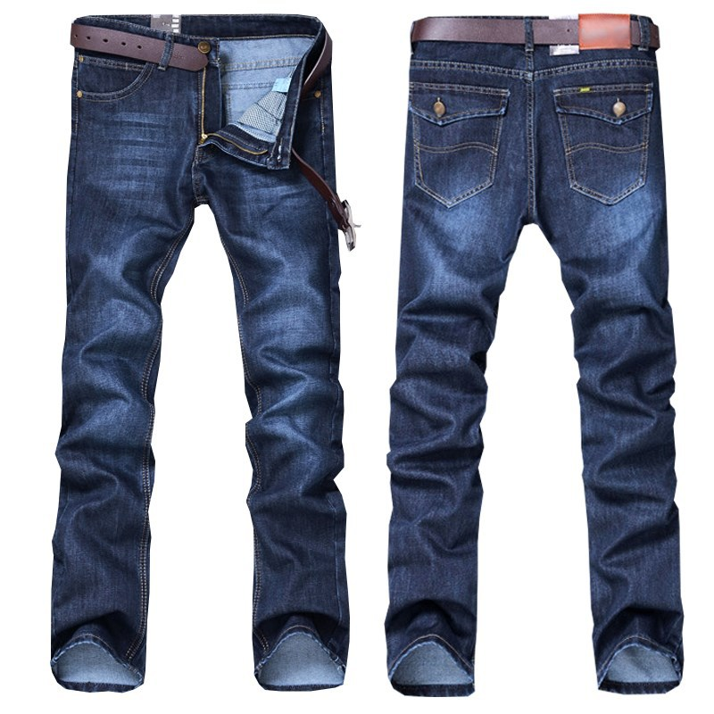 Jeans Men's Loose Straight 12 Block 10 Block 15-20 Block Pants Men's Casual Pants Cheap Men Work Pants
