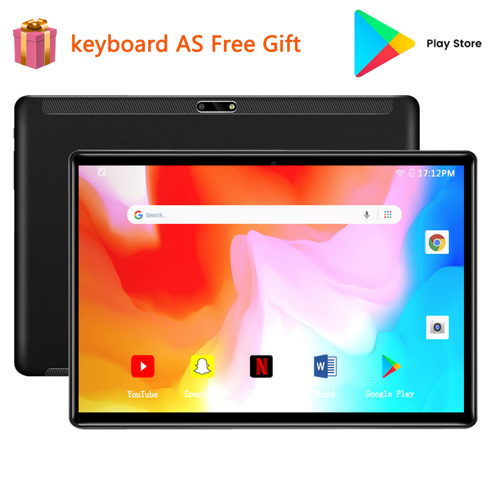 Tablet 10 Inch Tablet Android 9.0 System Eight Core 2gb Ram 32gb Rom, 1920 * 1200 HD Screen, Battery 6000mah