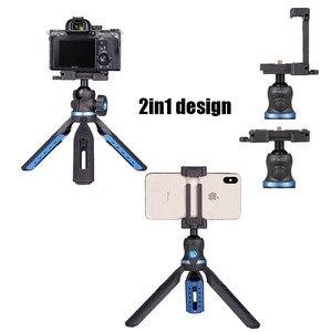 Image 2 - 전화 삼각대 소형 카메라 스탠드 스마트 폰 dslr 카메라 용 미니 탁상용 삼각대 iphone xs xs max x 8 7 plus samsung for huawei