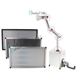 3 filtros extras dos pces da unidade oral externa 99.95% da sução do aerossol eficaz na filtragem do purificador de ar do hospital e da clínica