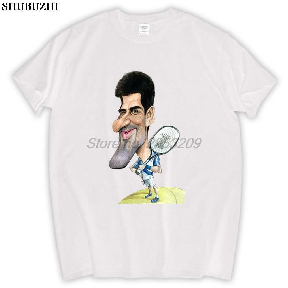 Novak Djokovic T Shirt Funny Cotton Men T Shirt Fashion Original Brand New High Quality Aliexpress