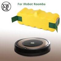 8000mah 대용량 14.4v 배터리 Irobot Roomba 스위핑 로봇 진공 청소기 500 540 550 620 600 650 700 780 790 870 900