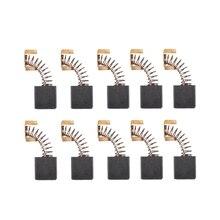 цена на 5 Pair 7 x 17 x 18mm Carbon Brushes 999044 for Hitachi Power Tool