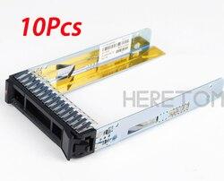 Heretom 10Pcs 00E7600 L38552 2,5 SAS SATA HDD Hard Drive Tray Caddy Schlitten Für IBM X3850 X6 M6 caddy Halterung
