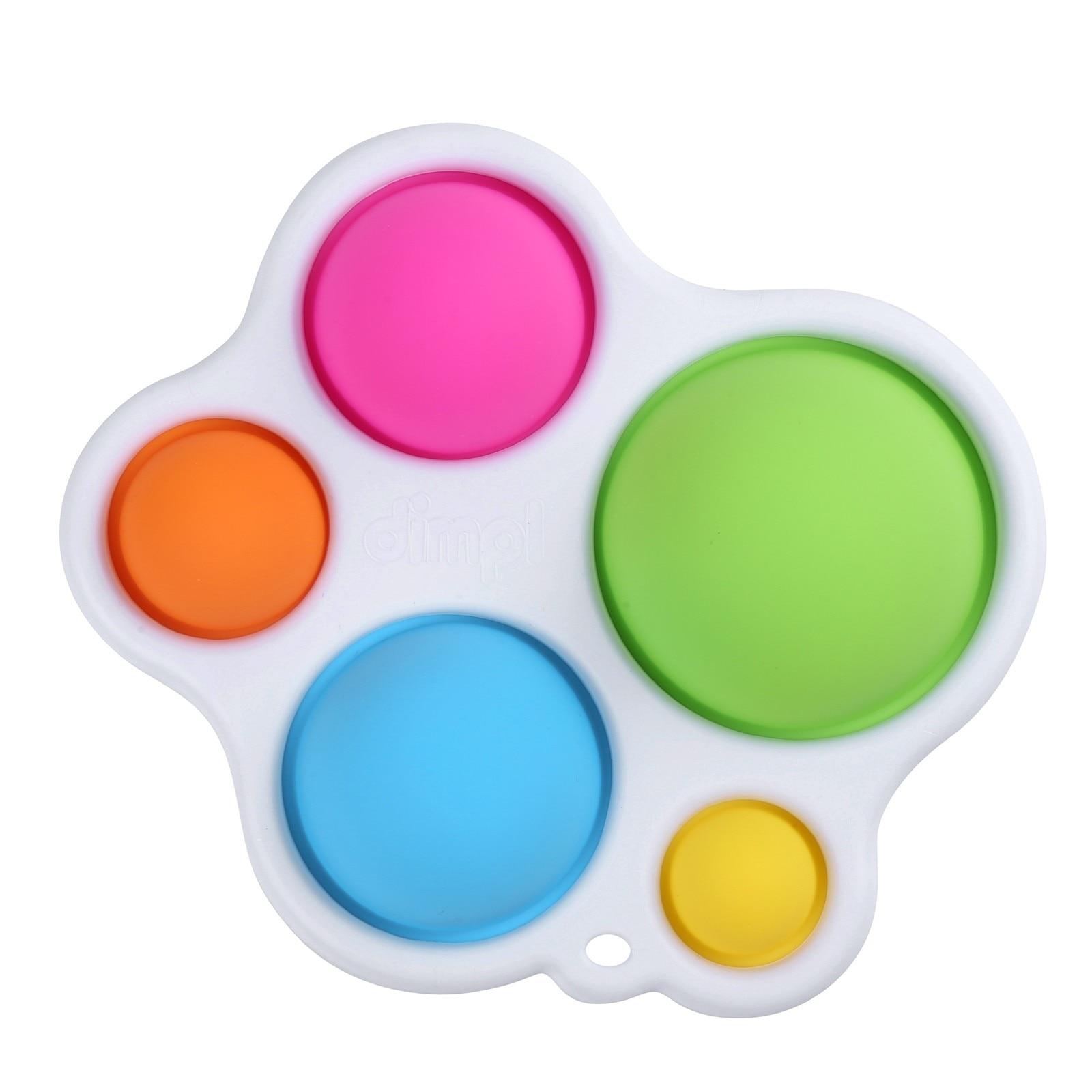 Toy Fidget-Toys Puzzle Baby-Toy Training Simple Dimple It-Sensory Pops Brain-Development-Enlightenment img2