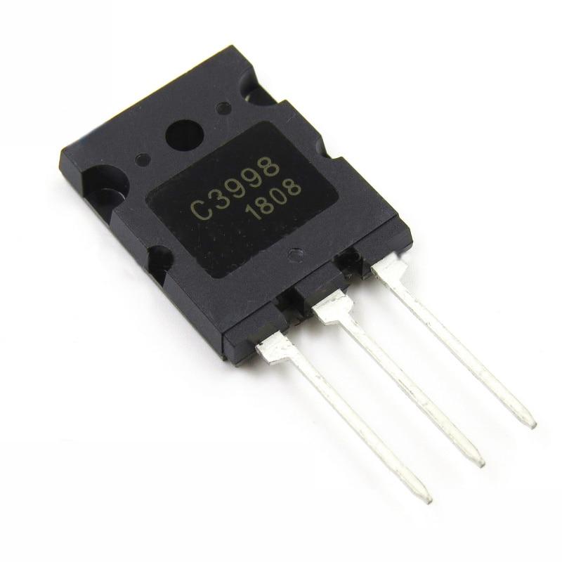 2pcs  C3998  TO-3P  2SC3998 25A 1500V New Original Quality Assurance