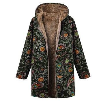 Manteau ethnique femme grande taille
