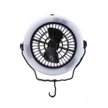 Tent Fan Light Led Camping Hiking Gear Equipment Usb Powered Outdoor Portable Ceiling Lamp