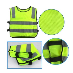 Image 4 - 反射ベスト、高視認性児童生徒子供反射ベストサッカーサイクリング安全ベストジャケット道路交通衛生新しい