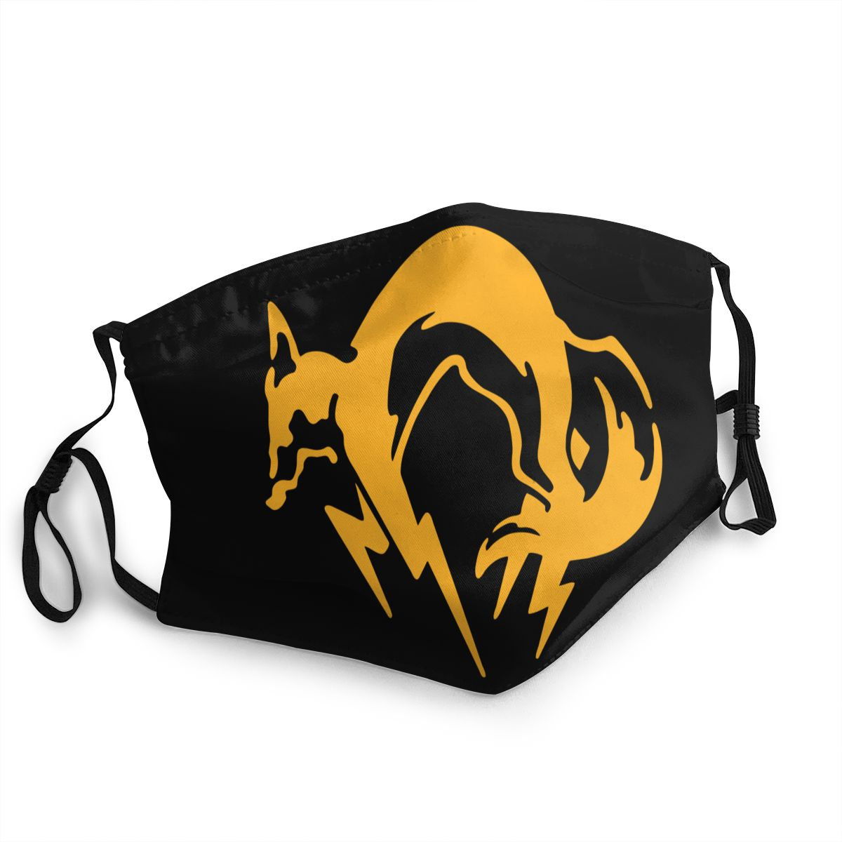 Metal Gear Solid FOX Non-Disposable Face Mask MGS Anti Bacterial Dustproof Mask Protection Cover Respirator Mouth Muffle