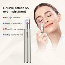 Massage-Stick Light-Therapy Eye-Care-Bar Vibrating-Eye Thermal-Massager Facial LED Photon